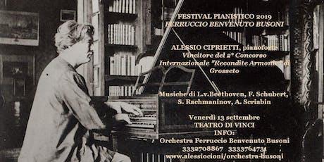 Festival Ferruccio Benvenuto Busoni-Recital di Alessio Ciprietti biglietti