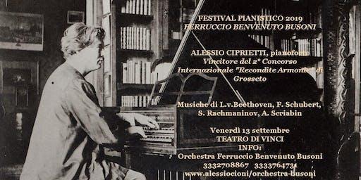 Festival Ferruccio Benvenuto Busoni-Recital di Alessio Ciprietti
