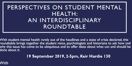 Perspectives on Student Mental Health: an Interdisciplinary Roundtable tickets