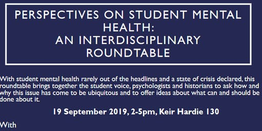 Perspectives on Student Mental Health: an Interdisciplinary Roundtable