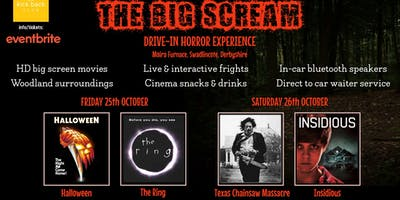 THE BIG SCREAM!! - Drive-in Horror Movie Experience @ Moira Furnace