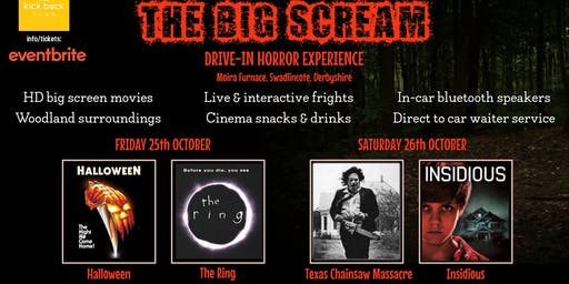 THE BIG SCREAM!! - Drive-in Horror Movie Experience @ Moira Furnace