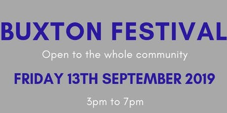 Buxton Festival Stall Holder Ticket tickets