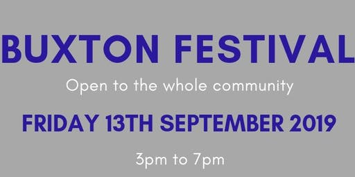 Buxton Festival Stall Holder Ticket