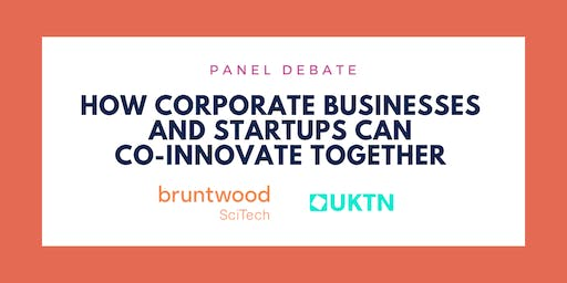 PANEL DEBATE: How corporate businesses and startups can co-innovate together