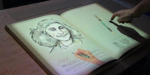 Besuch Bildungsstätte Anne Frank