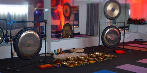 Sound Relaxation with gongs and singing bowls and mindfulness in Tuam