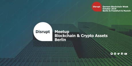 German Blockchain Week 2019 | Blockchain and Crypto Assets Berlin tickets