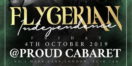 Flygerian Independence (Nigerian Independence) tickets