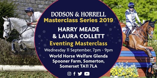 Dodson & Horrell Masterclass with Harry Meade and Laura Collett