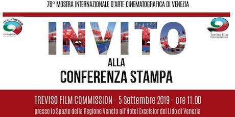 Conferenza stampa annuale della TREVISO FILM COMMISSION biglietti