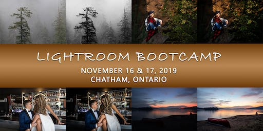 Lightroom Bootcamp with Chad Barry - November 16 & 17, 2019