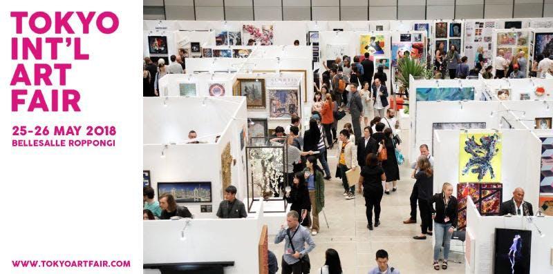 Tokyo International Art Fair - VIP Ticket Fri 5 June 2020