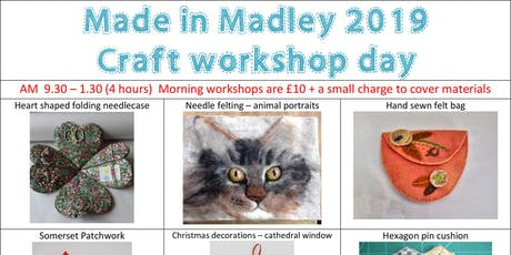 Made in Madley Craft Workshop Day tickets