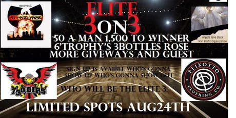 Crenshawearl's Elite 3on3 tickets