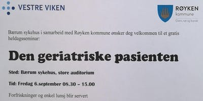 Seminar om Den geriatriske pasienten