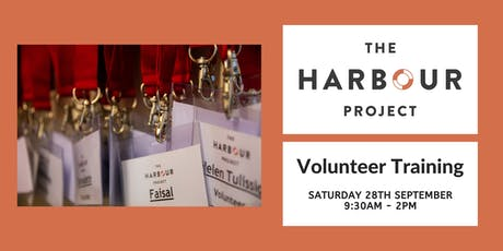 Harbour Project Volunteer Training tickets