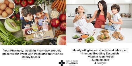 Mandy Sacher-Children's Immune Boosting Essentials tickets