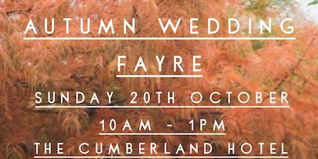 Autumn Wedding Fayre tickets