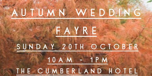 Autumn Wedding Fayre