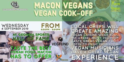 Macon Vegans' Vegan Cook-Off