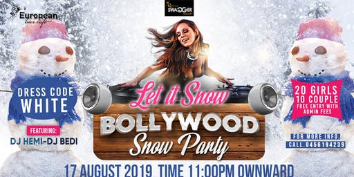 Bollywood Snow Party