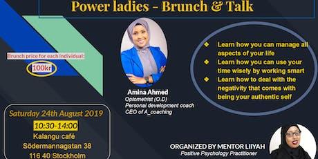 Power ladies - Brunch & Talk tickets