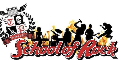 Teachers Pet School Of Rock + Support
