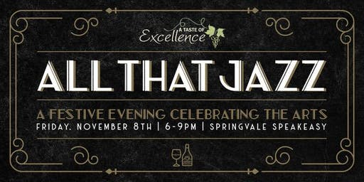 A Taste of Excellence: All That Jazz