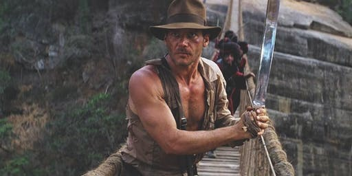 Indiana Jones and The Temple of Doom. Outdoor Cinema. Alconbury.