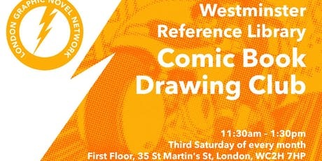 Westminster Library Comic Book Drawing Club tickets