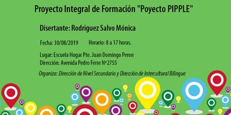 "Proyecto Integral de Formación ""Poyecto PIPPLE"" entradas"