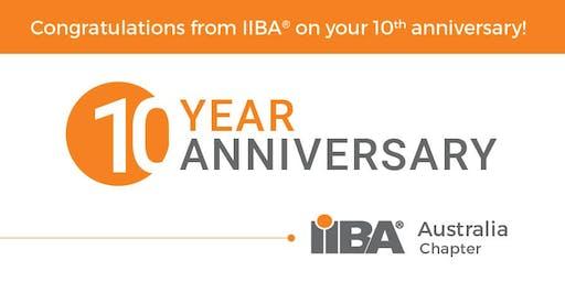 IIBA Melbourne: IIBA Australia 10th Year Celebration Networking Event
