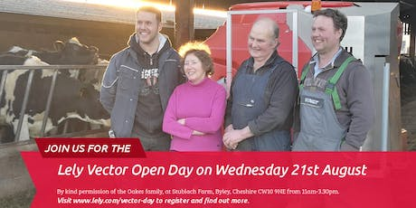 Lely Vector Open Day tickets