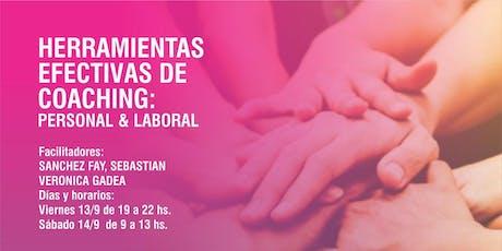 HERRAMIENTAS EFECTIVAS DE COACHING : PERSONAL & LABORAL entradas
