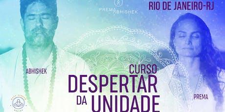 Curso Despertar da Unidade Rio de Janeiro ingressos