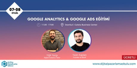 Google AdWords ve Analytics Eğitimi [ÜCRETLİ] tickets