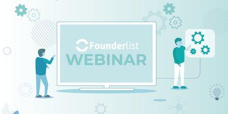 Webinar Founderlist: Oportunidad de Inversión en GeneproDX entradas