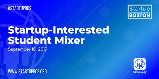 Startup-Interested Student Mixer