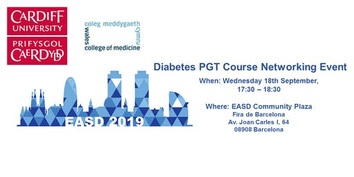 Diabetes PGT Course Networking Event EASD 2019