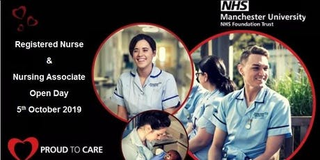 Registered Nursing and Nursing Associate Open Day tickets