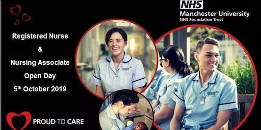 Registered Nursing and Nursing Associate Open Day
