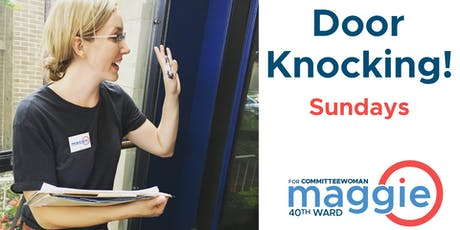 Sunday Door Knocking with Maggie (8/18) tickets