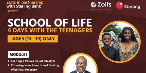 School of Life - 4 Days with Teenagers