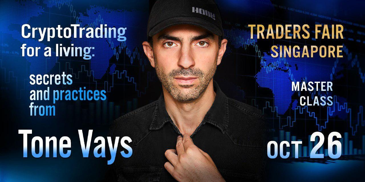 Cryptotrading for a Living: Secrets and Practices from Tone Vays (US crypto blogger #1)