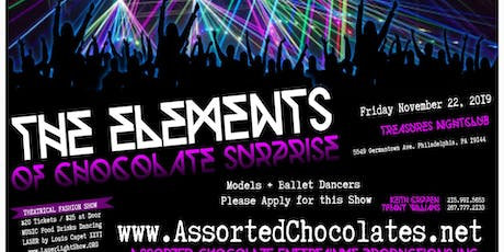 The Elements of Chocolate Surprise tickets