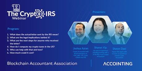 The Crypto-IRS Webinar tickets