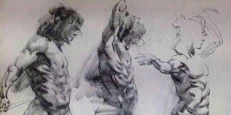 Dynamic Life drawing with Andrew Crayford.  tickets