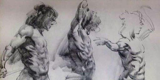 Dynamic Life drawing with Andrew Crayford.