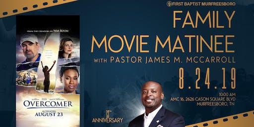 FBC Family Movie Matinee with Pastor McCarroll
